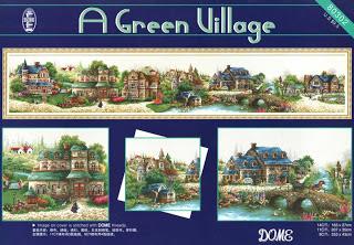 A green village. Старт