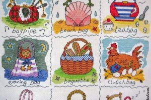 Вышивка крестом Bothy Threads - Словарь сумок