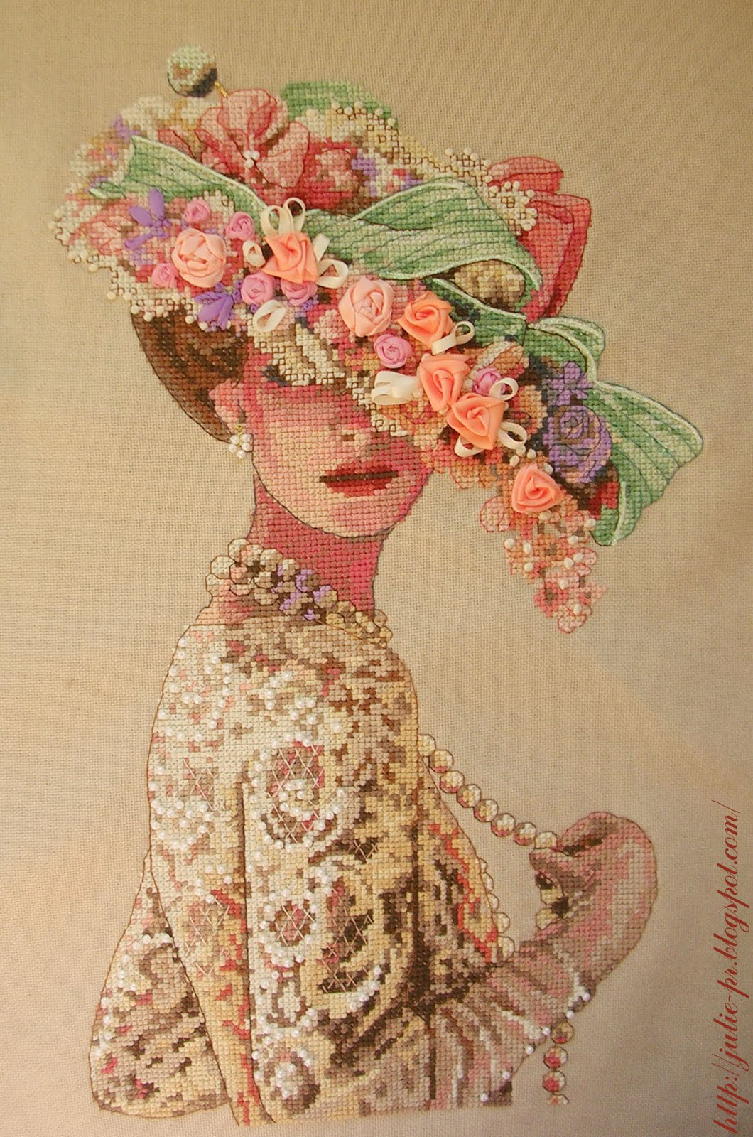 Вышивка крестом Victorian Elegance Dimensions 03823