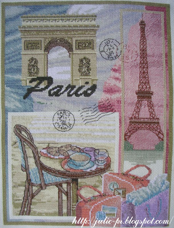 Вышивка крестом Paris / Париж - Anchor 01039