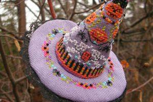 Вышивка крестом Hagatha's Hat от Just Nan