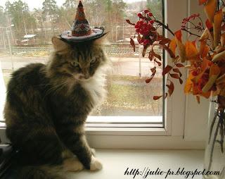 Вышивка крестом, Hagatha's Hat, Just Nan, шляпа ведьмы, хеллоуин, хэллоуин, Halloween