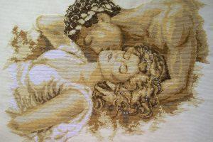 Вышивка крестом Vervaco 75-822 - Поцелуй / The Kiss
