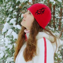 «У леса на опушке жила зима в избушке…»