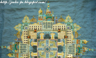 White Nights in St. Petersburg, мандала, Белые ночи Петербурга, Chatelaine design, Martina Rosenberg Weber, Мартина Розенберг, вышивка крестом
