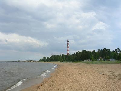 Ладожское озеро, Осиновецкий маяк и «Дорога жизни»