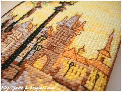 Карлов мост Прага искусница пинкип вышивка pinkeep cross stitch