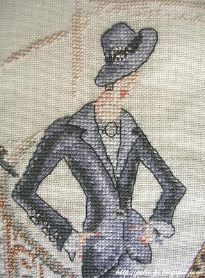 Helene Tran, le defile, вышивка крестом, Элен Тран, Дефиле, DMC, вышивка крестиком
