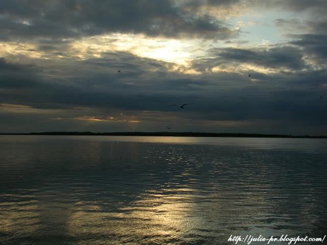 Закат на Северной Двине