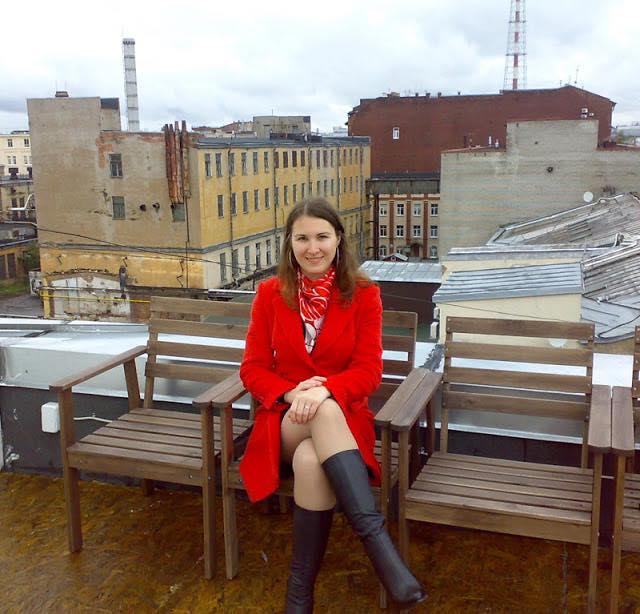 Петроградка, Санкт-Петербург, крыша