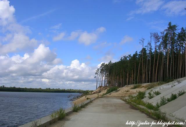 Шуховская башня на Оке, Дзержинск, Нижегородская область, Ока