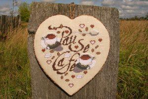 Вышивка крестом Coffee Coeur / Кофейное сердце Isabelle Vautier