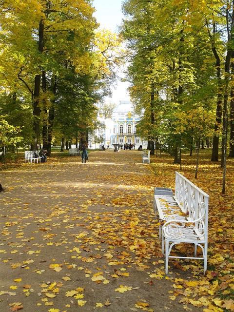 Царское село, Екатерининский парк, осень