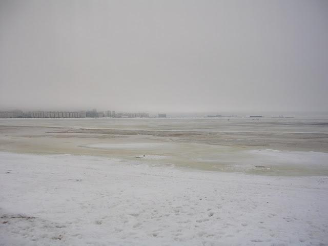Парк 300-летия Санкт-Петербурга, Финский залив