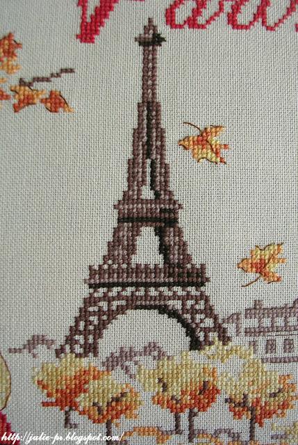 осенний день в Париже, парижские вышивальщицы, Les brodeuses parisiennes, Un jour à Paris en Automne, Париж, вышивка крестом, Париж, парижанка, вышивка