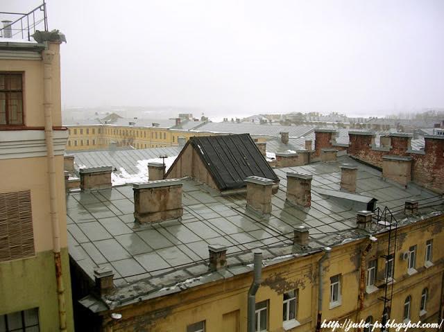 крыши Петербурга, питерские крыши, петербургские крыши