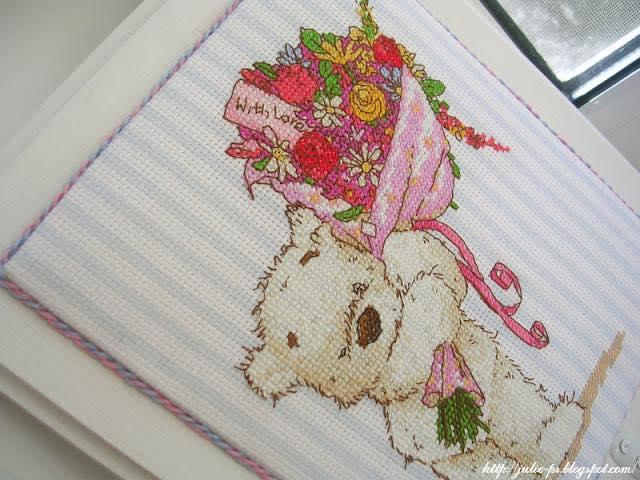 Ces fleurs sont pour toi, With a lickle affection, DMC BL852/54