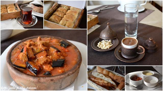 тцрецкая кухня, восточная кухня, баклава, пахлава, кофе по-турецки, турецкий чай, Галата, кафе Галата в Санкт-Петербурге