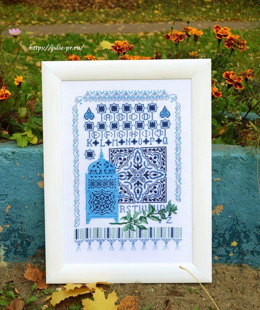 Вышивка крестом Impressions marocaines отVeronique Enginger