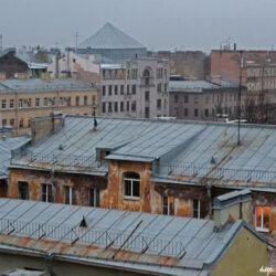 """Крыша """"Этажей"""""""