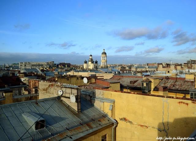 крыши Петербурга, Питер крыши, Собор Владимирской иконы Божией Матери