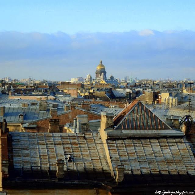 крыши Петербурга, Питер крыши, Исаакиевский собор