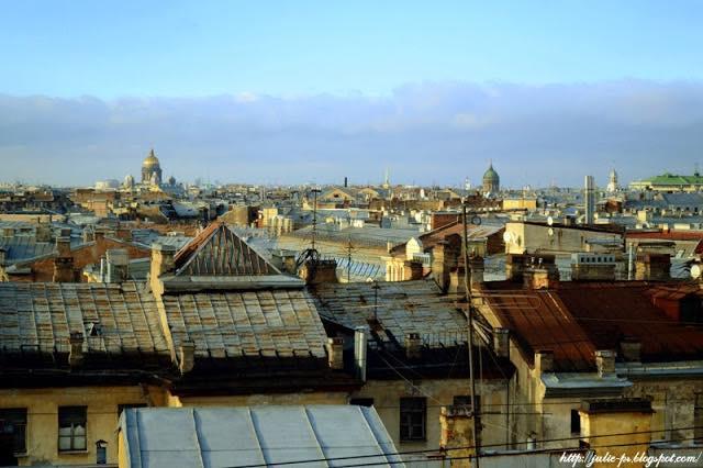 крыши Петербурга, Питер крыши, Казанский собор, Исаакиевский собор