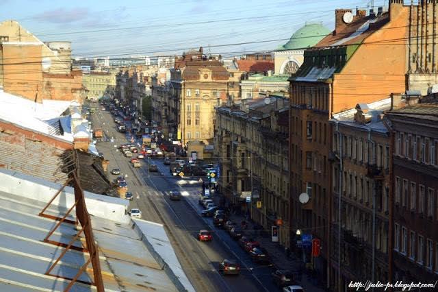 крыши Петербурга, Питер крыши, улица Марата
