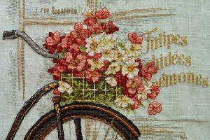 Вышивка крестом Dimensions 35195 - Parisian Bicycle / Парижский велосипед