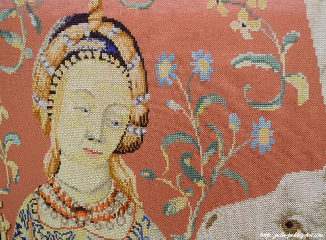 Thea Gouverneur, вышивка крестом