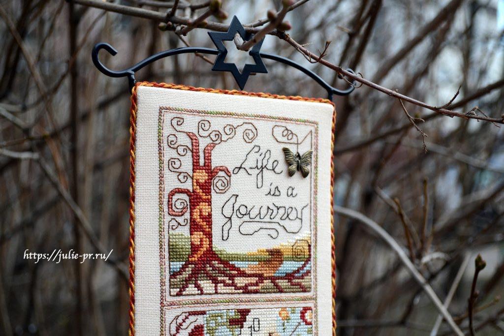 Вышивка крестом Stoney Creek Collection — Life is a Journey