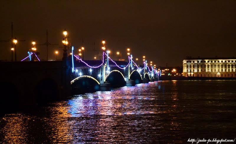 Санкт-Петербург, Нева, Троицкий мост