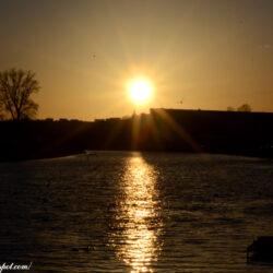 На закате дня…