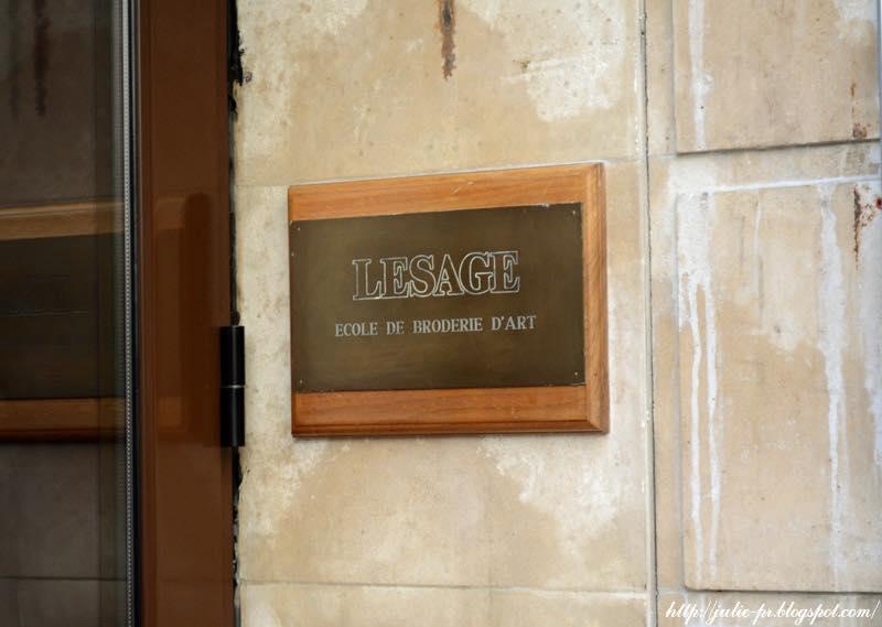 школа вышивки Лесаж, Ecole Lesage, вышивка haute couture, кутюрная вышивка, Париж