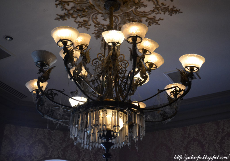 Диснейленд, Париж, дом с привидениями