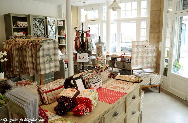 Парижские вышивальщицы, Les brodeuses parisiennes, вышивка крестом, магазин в Париже