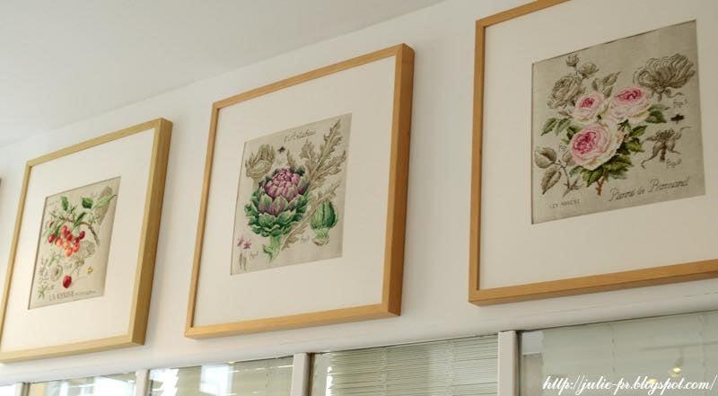 Парижские вышивальщицы, Les brodeuses parisiennes, вышивка крестом, магазин в Париже, ботаника