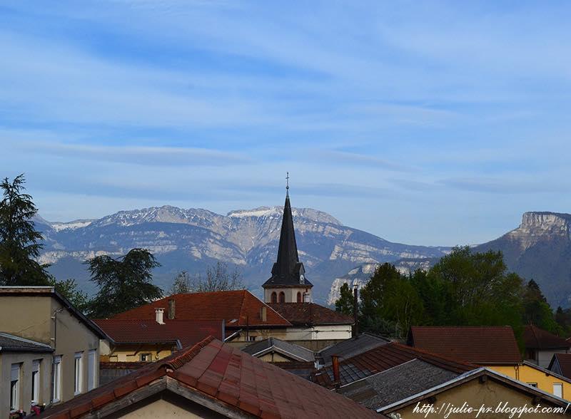 Tullins, France, département de l'Isère en région Rhône-Alpes, Тюллен