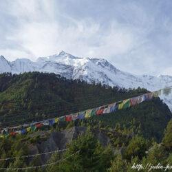 Nepal. Annapurna Circuit. Day 7 – Manang. Gangapurna Lake