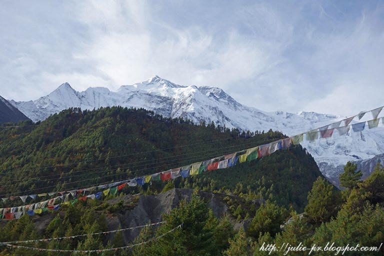 Nepal. Annapurna Circuit. Day 7 — Manang. Gangapurna Lake