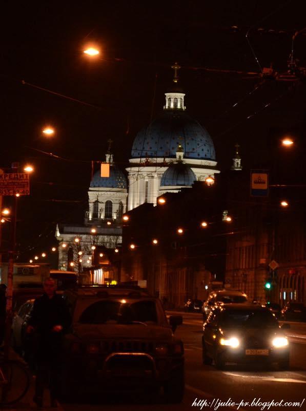 Санкт-Петербург, ноябрь, Троицкий собор