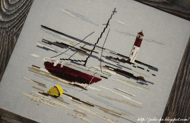 Marée basse Isabelle Vautier, Изабель Вотье, Au fil de l'océan, ключница с вышивкой крестом, вышивка крестом, ключница, французская вышивка, французский дизайн