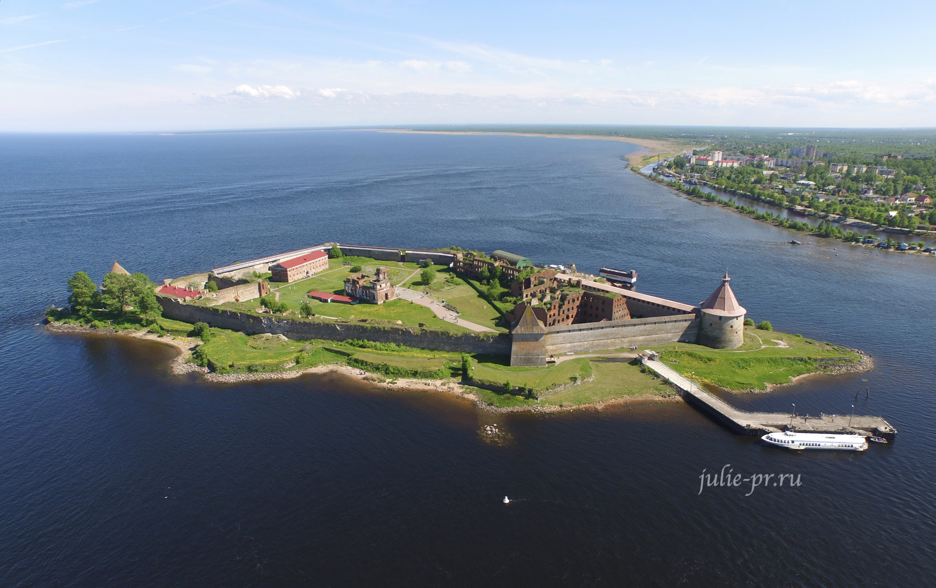 Петербург, Шлиссельбург, крепость Орешек