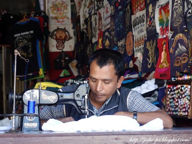 Nepal, Kathmandu, Непал, Катманду, вышивка