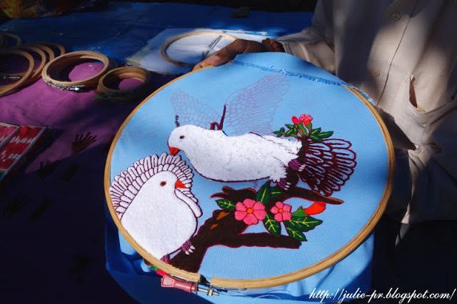 Nepal, Kathmandu, Непал, Катманду, вышивка, ковровая вышивка