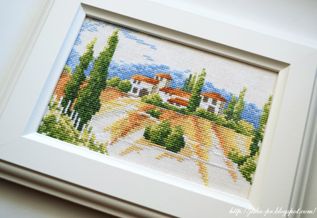 Lanarte 34780 Tuscany, Тоскана, вышивка крестом, Италия