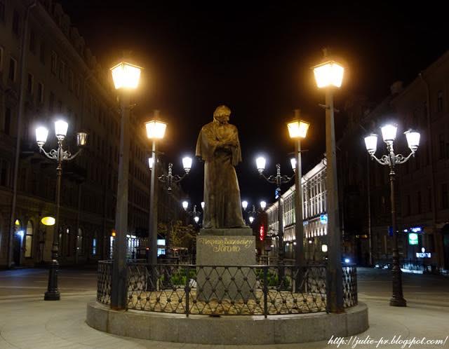 Санкт-Петербург, Малая Конюшенная улица, Гоголь