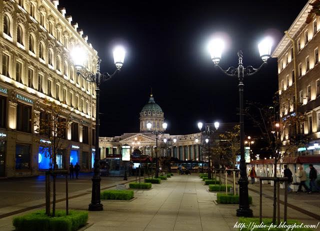 Санкт-Петербург, Малая Конюшенная улица, Казанский собор