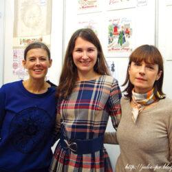Парижские вышивальщицы на Атмосфере творчества — 2015