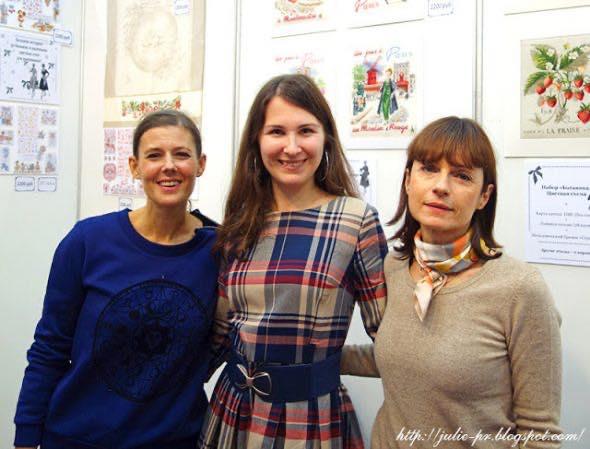 Картинки с выставки. Парижские вышивальщицы на Атмосфере творчества — 2015